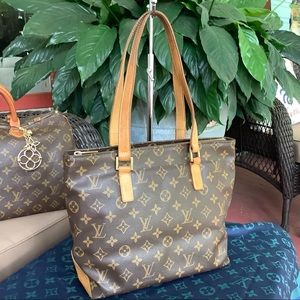 💯Louis Vuitton Cabas Piano shoulder tote